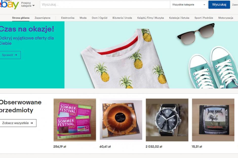 eBay uruchamia spersonalizowaną stronę główną po polsku