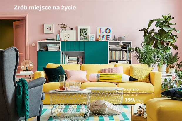 IKEA: 7 mln egz. katalogu, Fisz w reklamie