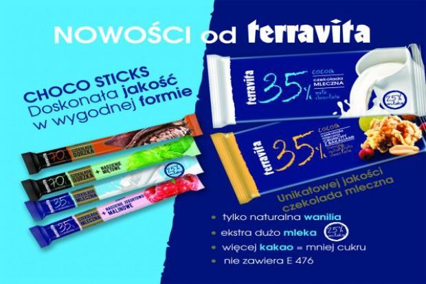 Terravita zaoferuje nowości w czekoladkach i tabliczkach