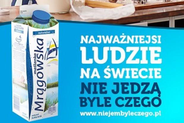 Kolejny etap kampanii Maślanki Mrągowskiej