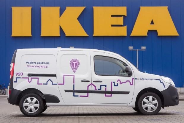 Klienci IKEA mogą wynająć samochody dostawcze w systemie Traficar