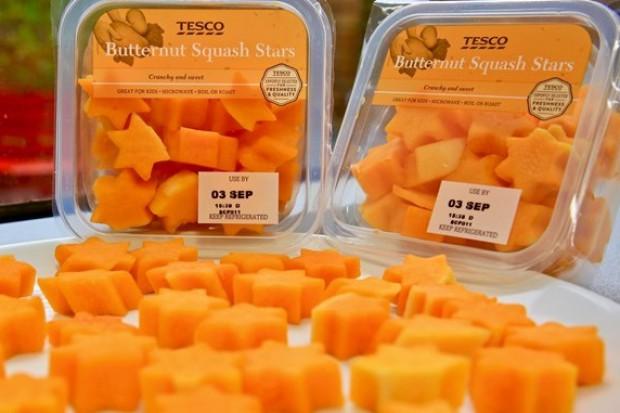 Gwiazdki z dyni, buźki z ziemniaków – to nowa linia warzyw Tesco dla dzieci
