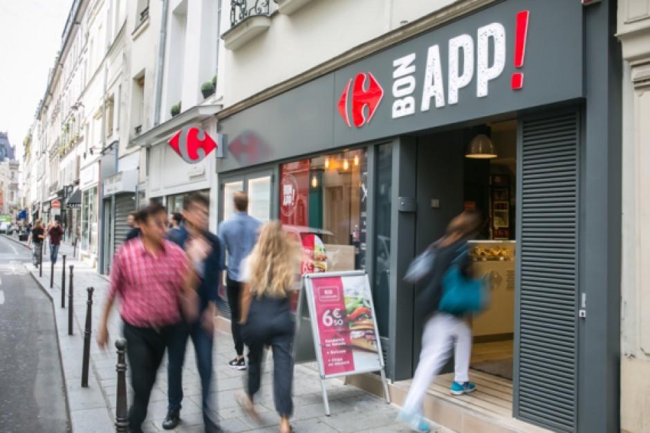 Carrefour rozwija sieć sklepów Bon App, z produktami food-to-go