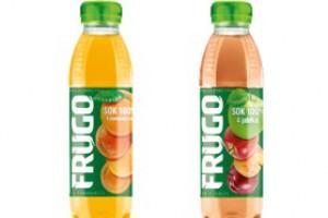 Frugo w owocowych smakach w butelkach PET