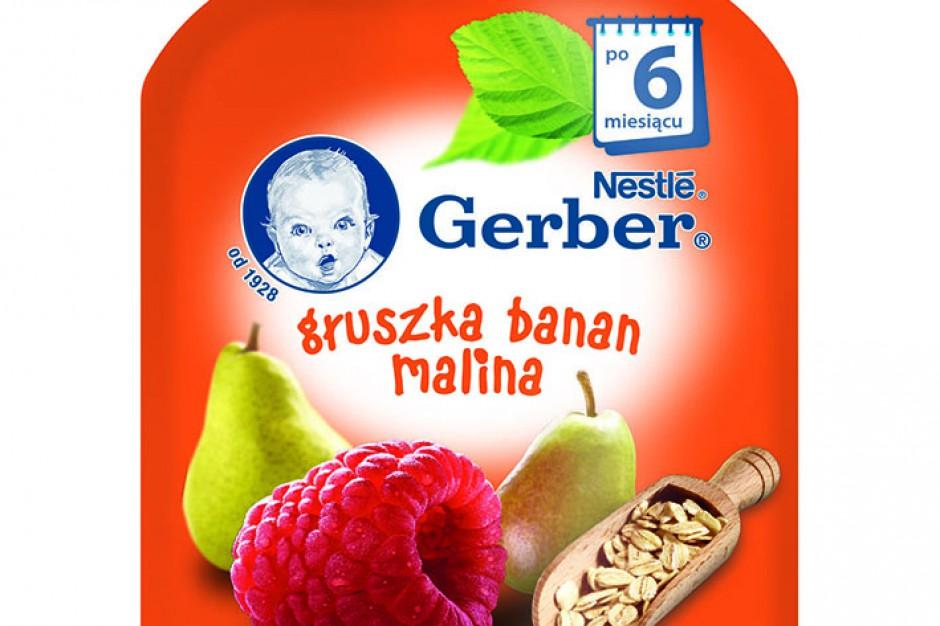 Nowe deserki owocowe marki Gerber