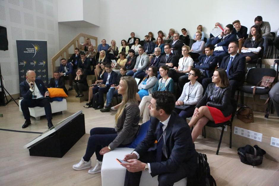 Liderzy Przyszłości na IV Wschodnim Kongresie Gospodarczym w Białymstoku