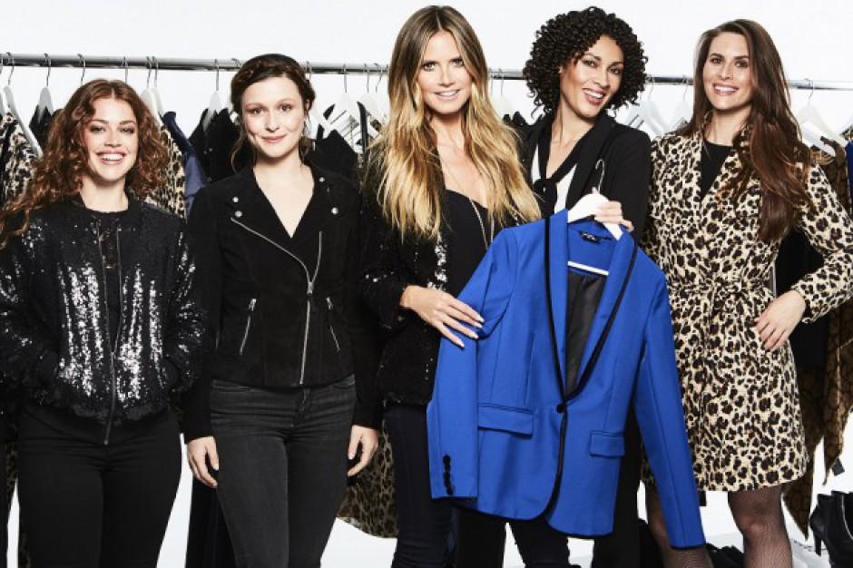 Analitycy: Kolekcja Heidi Klum umacnia segment odzieżowy w dyskontach