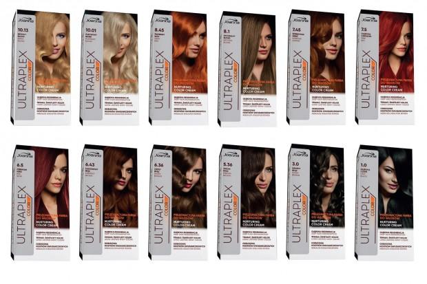 Nowa linia pielęgnacyjnych farb do koloryzacji włosów Ultraplex od LK Joanna