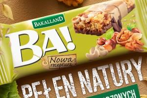 Bakalland promuje batony BA!