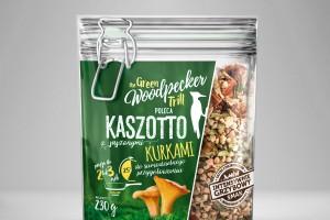 Kaszotto i Risotto z dodatkiem grzybów marki The Green Woodpecker Trill