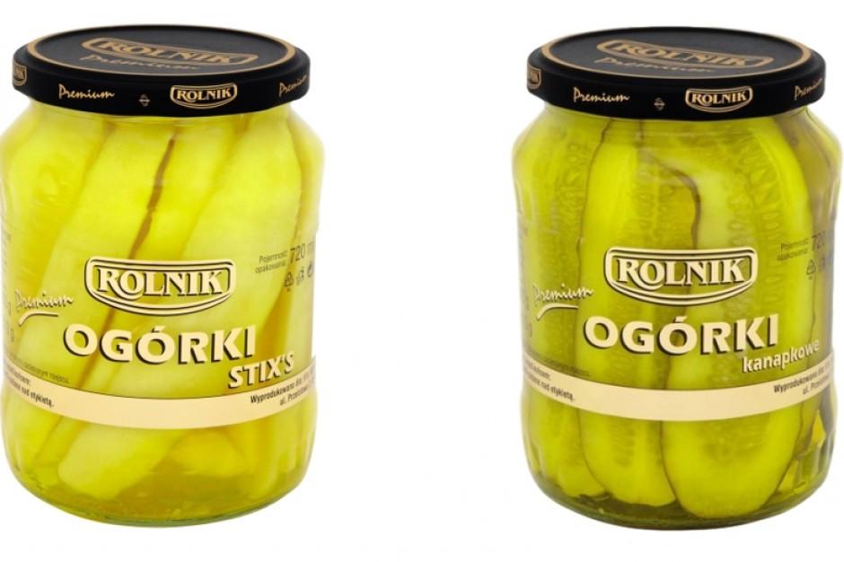 Ogórki premium od firmy Rolnik