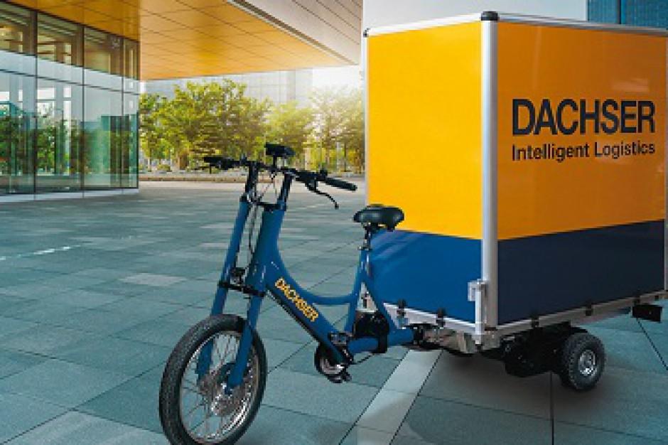 Dachser testuje rowery dostawcze dla logistyki miejskiej