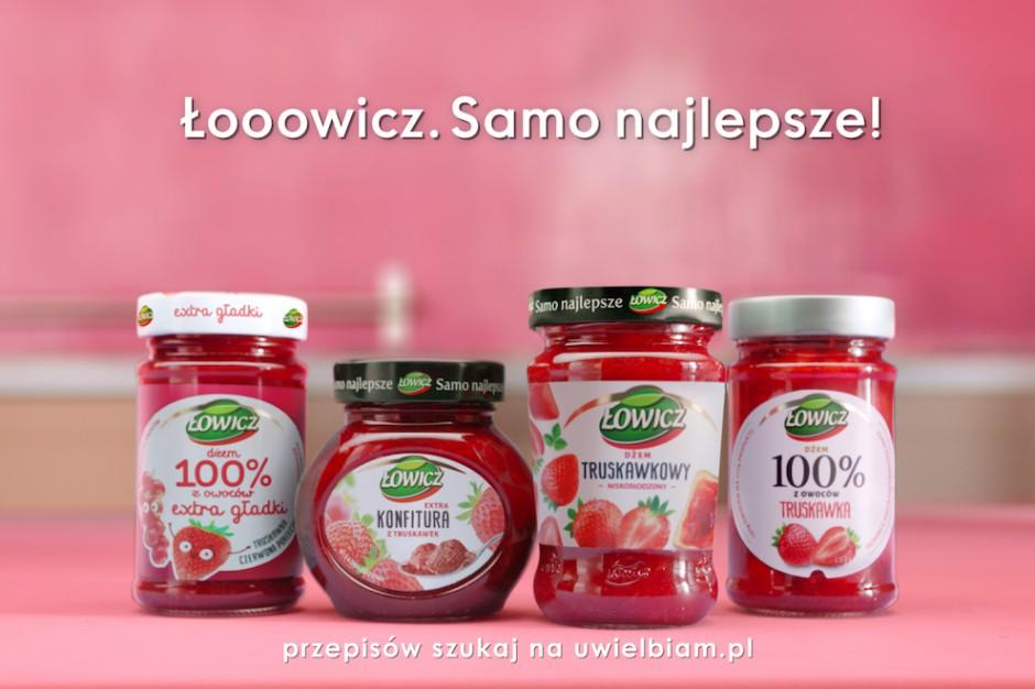 Nowa kampania dżemów Łowicz