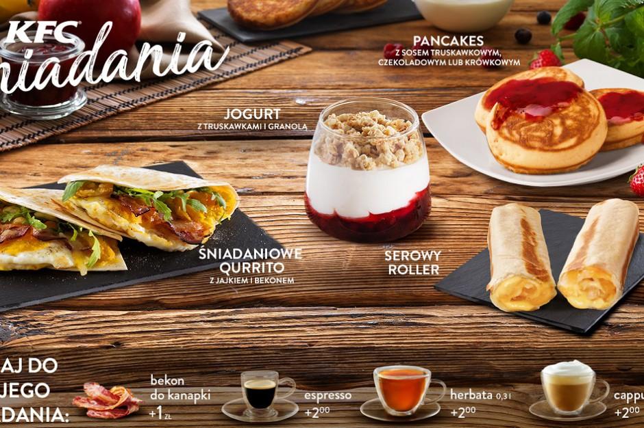 W restauracjach KFC rusza oferta śniadaniowa
