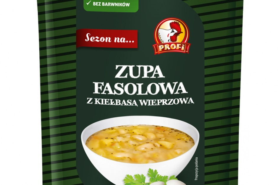 Profi wprowadza na rynek nowe zupy