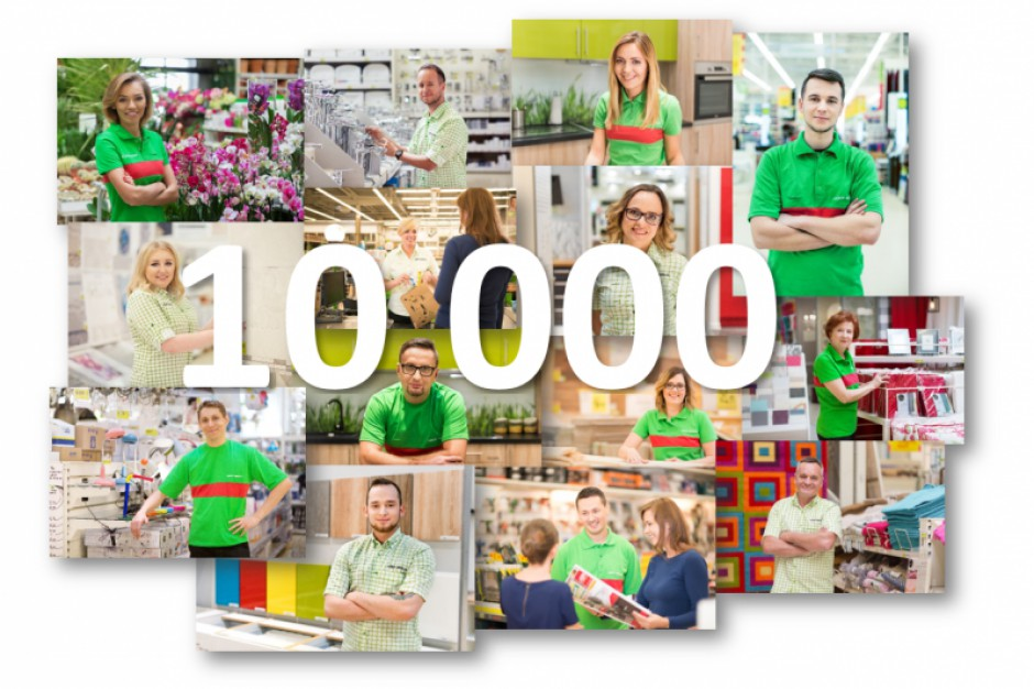 Leroy Merlin w Polsce zatrudnia ponad 10 tys. pracowników