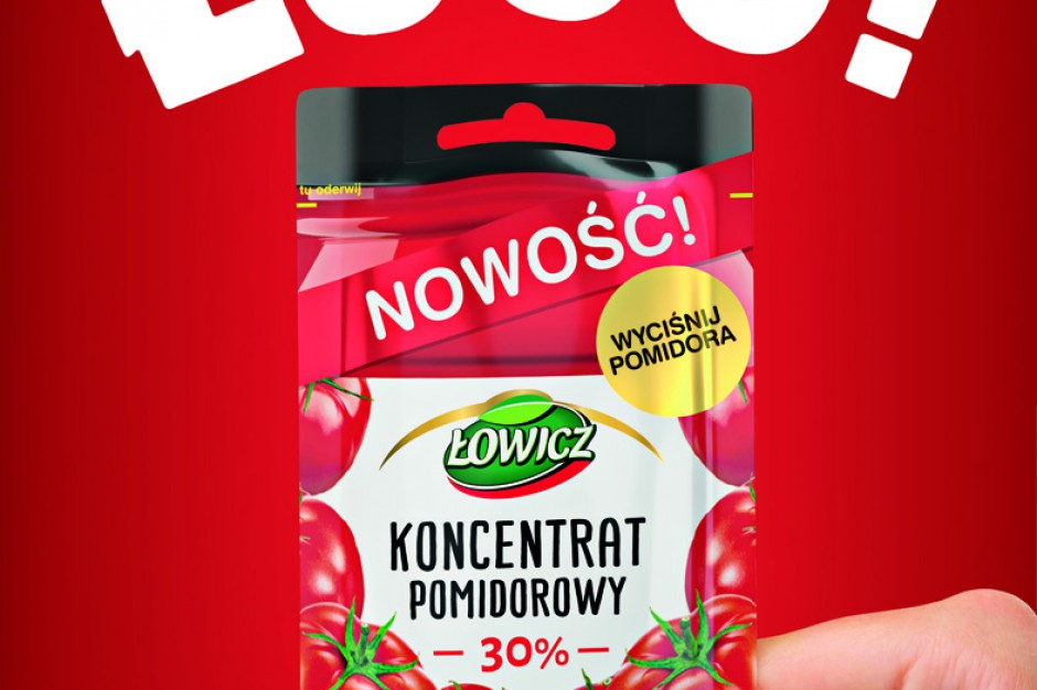 Koncentrat Pomidorowy Łowicz w nowym wariancie