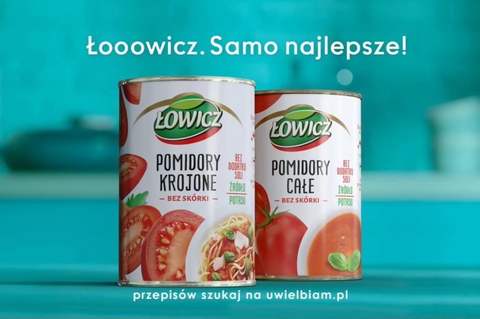 Łowicz promuje kampanią pomidory w puszce