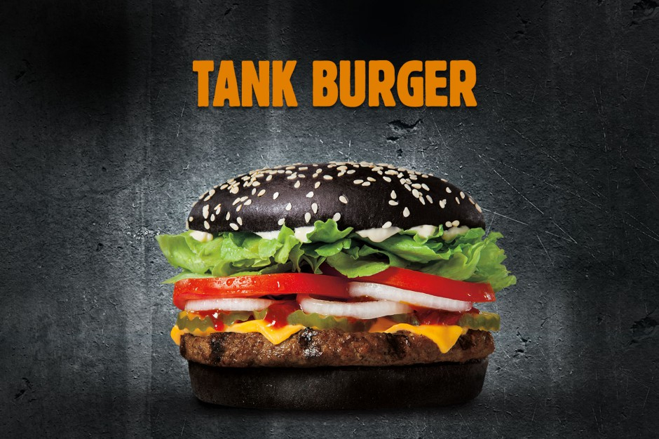 Czarny Burger w cross-promocji Burger Kinga