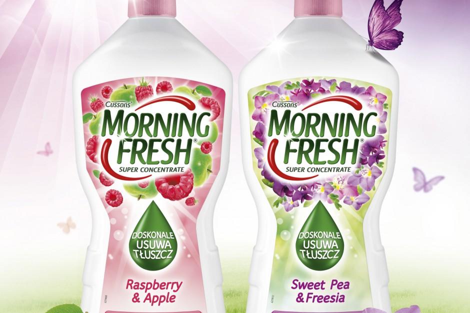 Nowe warianty zapachowe płynów do mycia naczyńMorning Fresh