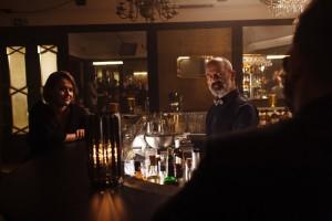 Wojciech Zieliński i Jacek Koman w serialu promującym whisky marki Ballantine's