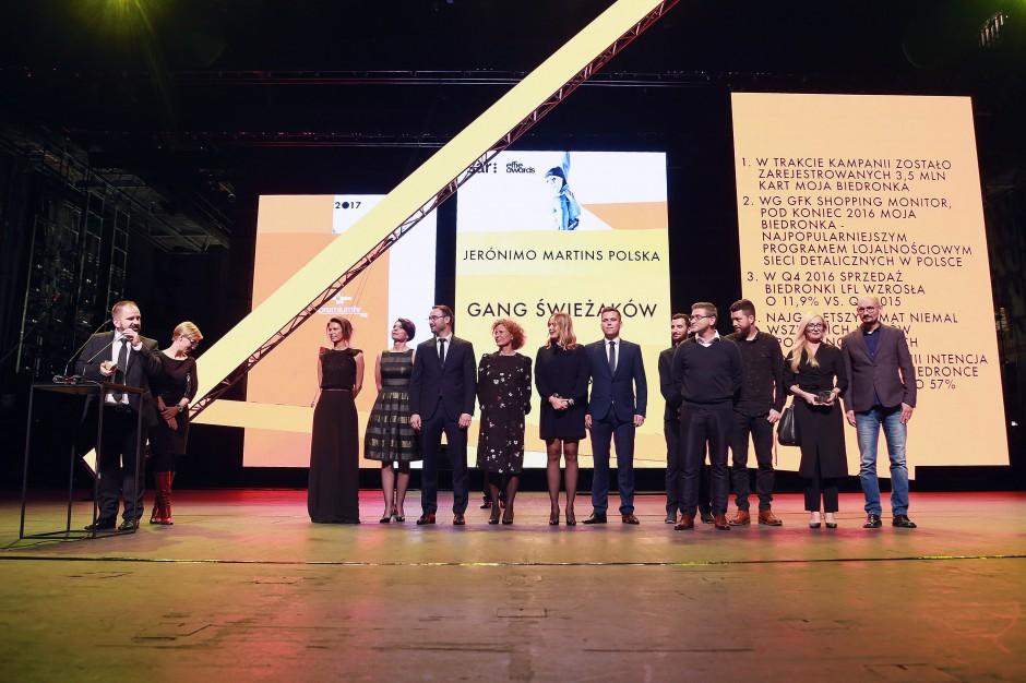 """""""Gang Świeżaków"""" z Biedronki zgarnął Effie Awards 2017"""