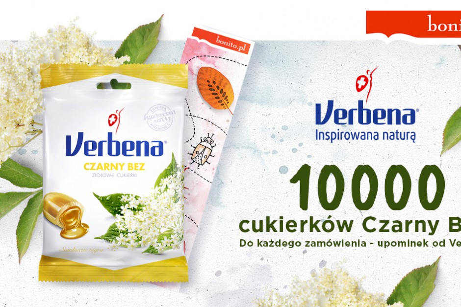 Verbena i e-księgarnia Bonito.pl ze wspólną promocją