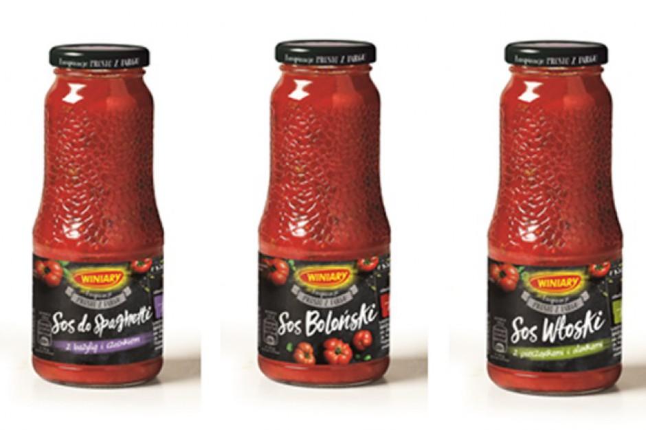 Sosy pomidorowe w butelkach od marki Winiary