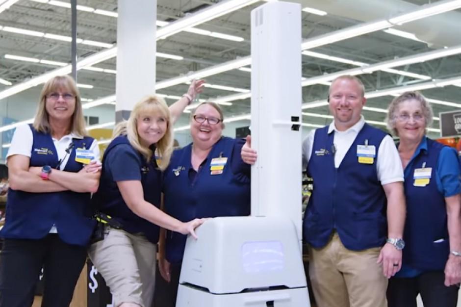 Roboty przeskanują półki Walmarta w celu wykrycia braku towaru (video)