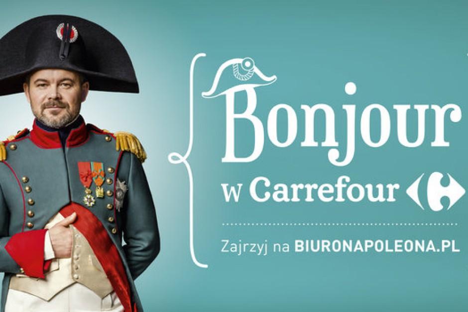 Kampania z Napoleonem wpłynęła na zwiększenie wartości koszyka zakupowego w sklepach Carrefour