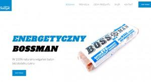 Firma Bałtyk uruchomiła sprzedaż internetową batonów energetycznych BossMan