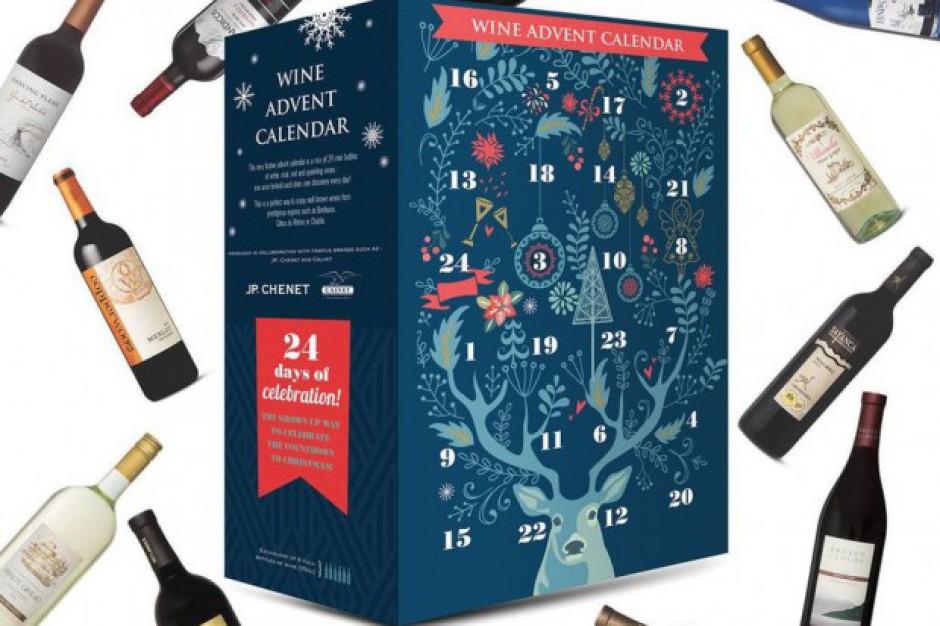 Kalendarz adwentowy z winem zamiast czekoladek w ofercie Aldi