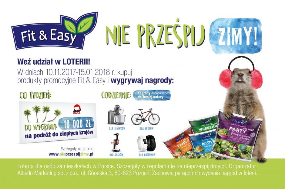 Marka Fit&Easy rusza z loterią promocyjną
