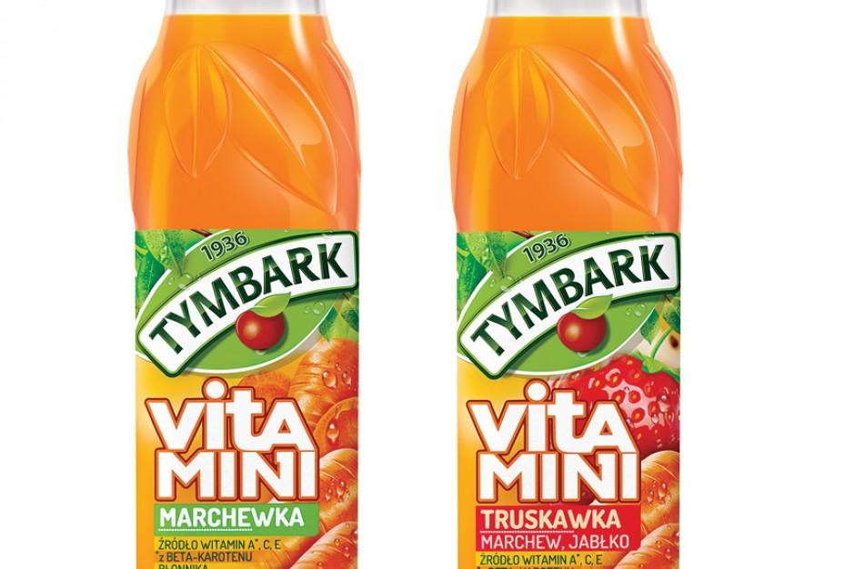 Dwa nowe smaki witamin od Tymbarku