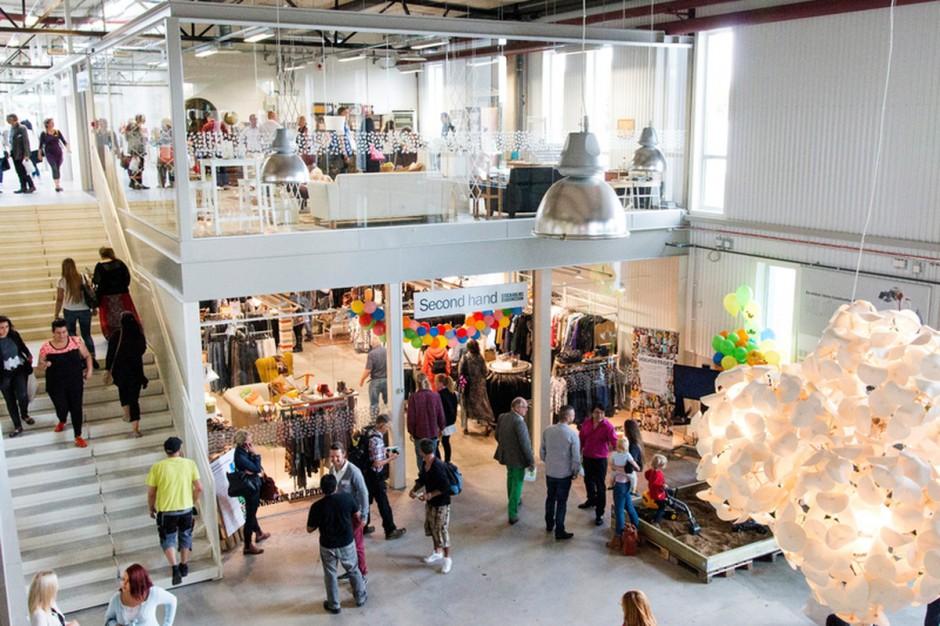 ReTuna Recycling - galeria handlowa z używanymi rzeczami działa w Szwecji
