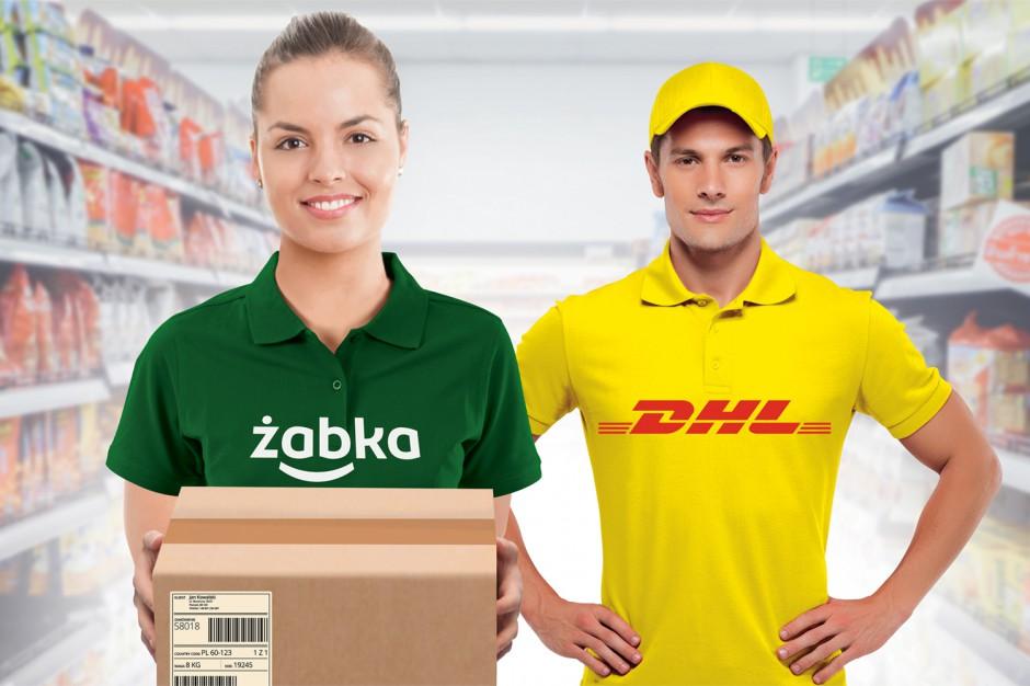 DHL Parcel rozszerza współpracę z Żabka Polska na całą sieć sklepów