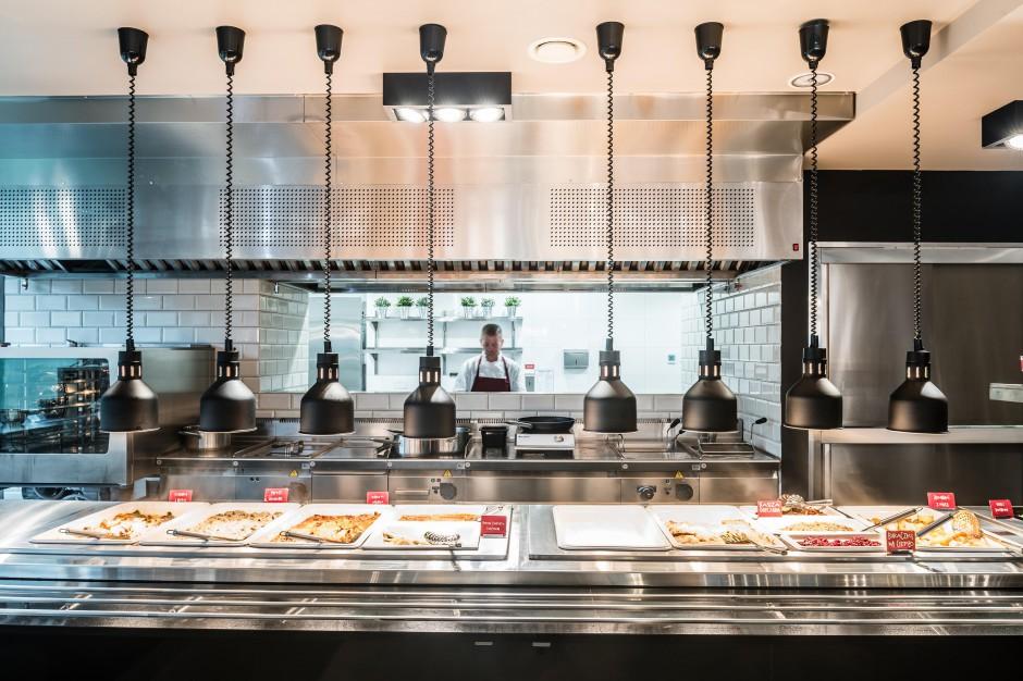 Meating Point koncept restauracyjny do biur i galerii handlowych