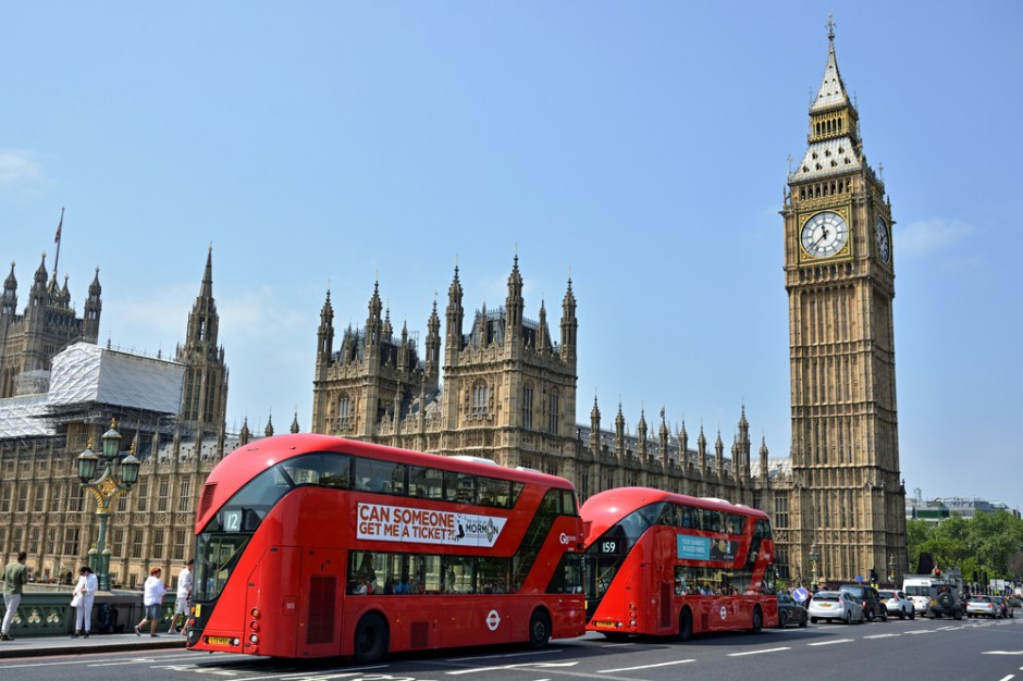 Londyńskie autobusy napędzane... kawą