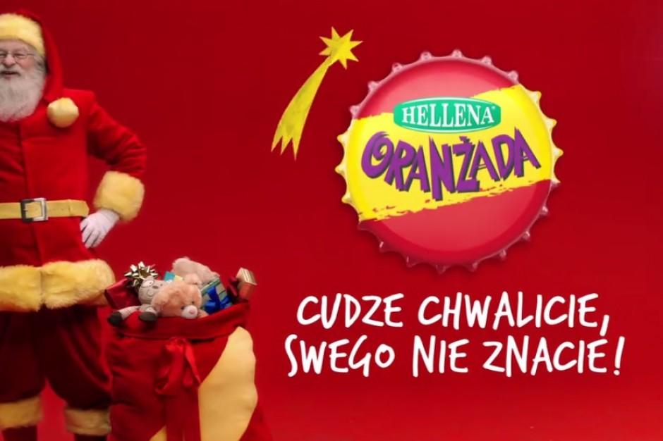 Oranżada Hellena zeświąteczną kampanią reklamową