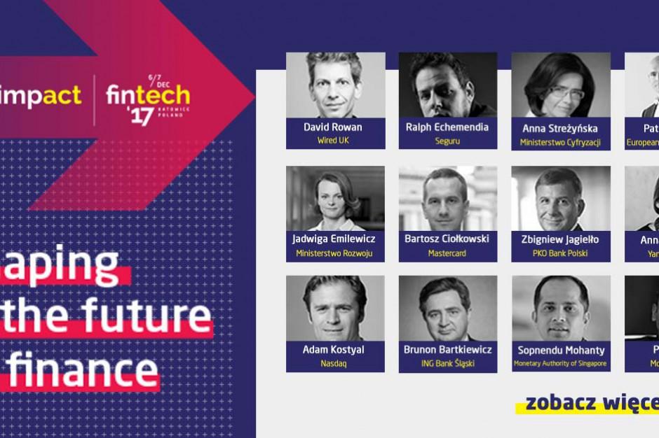 Wizja finansów przyszłości - Impact fintech'17