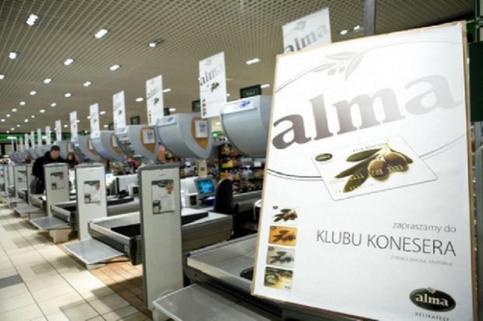 Alma Market: 68 mln zł straty, roszczenia sądowe na 22 mln zł i 100 mln zł zadłużenia