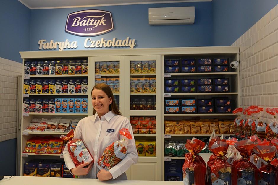 """Fabryka Czekolady """"Bałtyk"""" otworzyła sklep firmowy w Gdyni"""