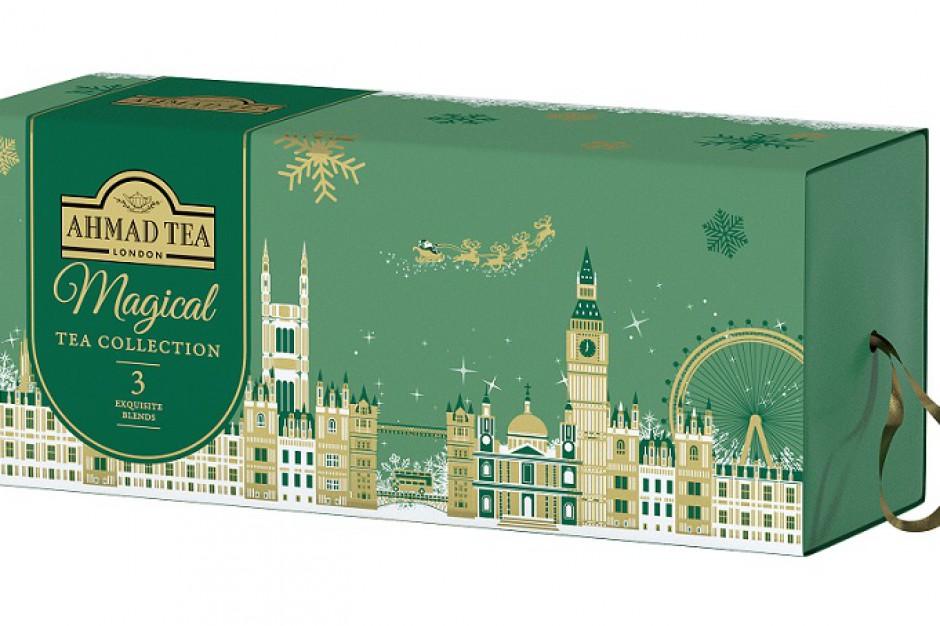 Ahmad Tea London w świątecznych opakowaniach