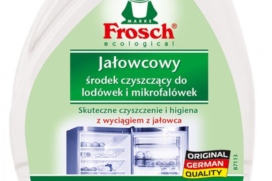 Frosch Jałowcowy - nowy środek czyszczący do lodówek