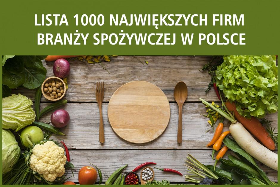 Nowy ranking największych firm spożywczych w Polsce
