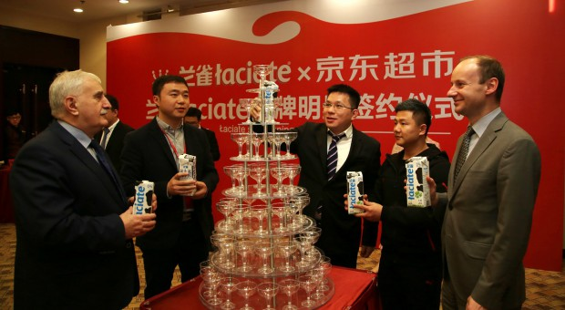 Łaciate zagości na chińskich stołach. Produkty SM Mlekpol będą dystrybuowane w kanale e-commerce
