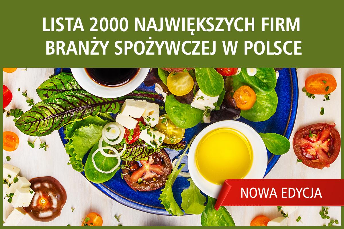 Oto największe firmy spożywcze w Polsce