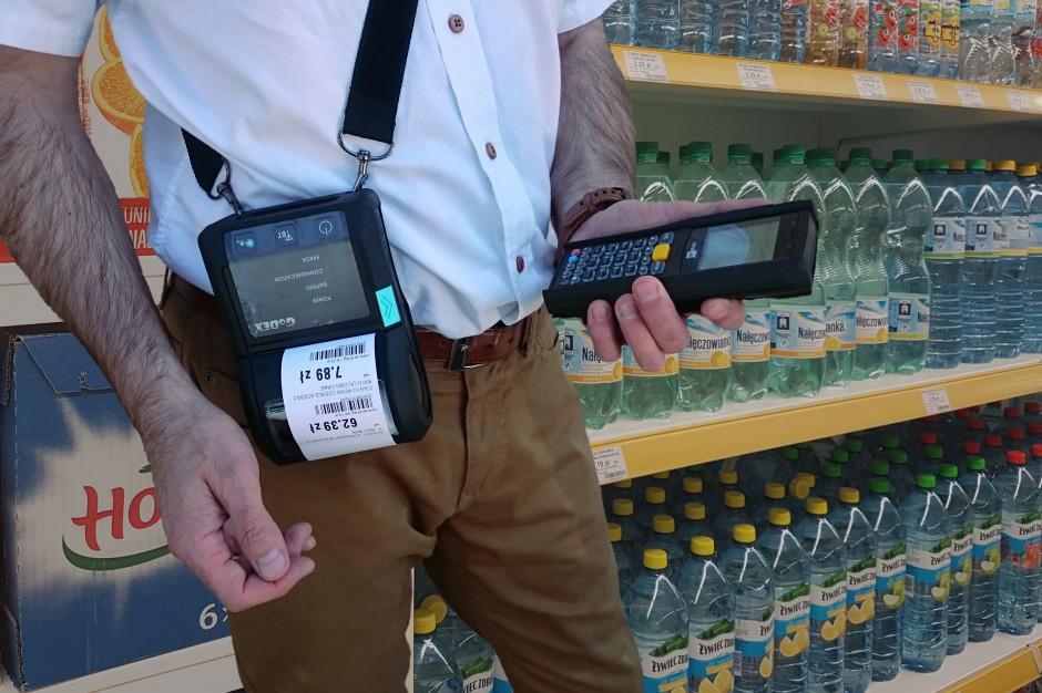 EtDruk - urządzenie do weryfikacji i automatycznego wydruku etykiet cenowych przy półce sklepowej