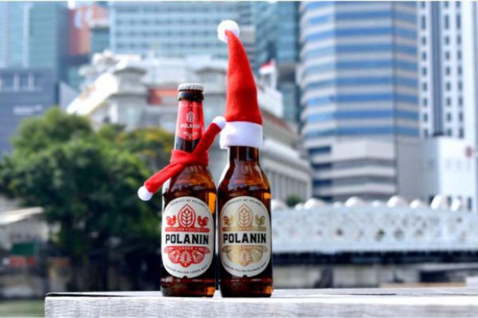 Polskie piwo rzemieślnicze w sklepach w Singapurze