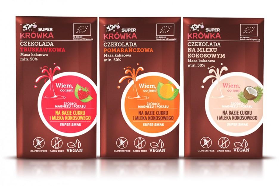 Ekologiczna czekolada Super Krówka od Me gusto
